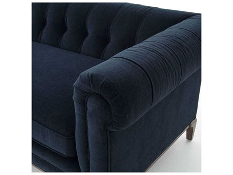 four hands sofa four hands kensington griffon plush navy sofa fsckenf8a3404