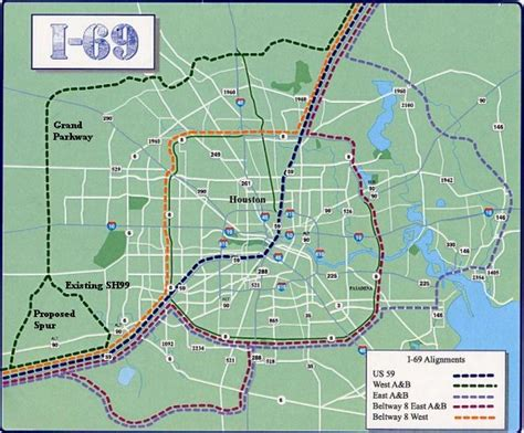 i 69 texas corridor map interstate 69 traffic and transportation haif houston s leading news forum