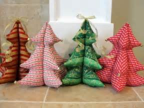 christmas sewing projects christmas trees behind