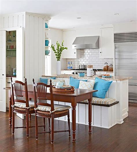 Kitchens With Banquettes by Kitchen Islands As Banquettes