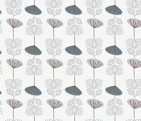 winter lotus lotus in winter fabric joheadington spoonflower