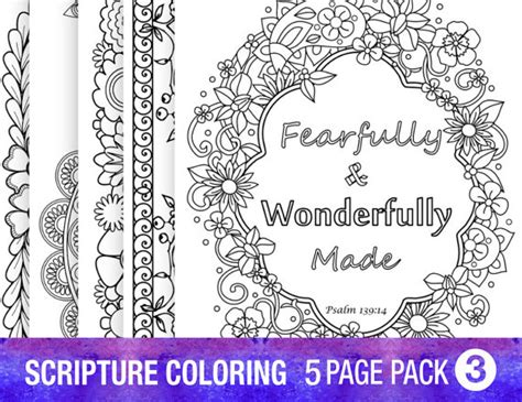 inspirational bible verses coloring pages 5 bible verse coloring pages set inspirational quotes diy