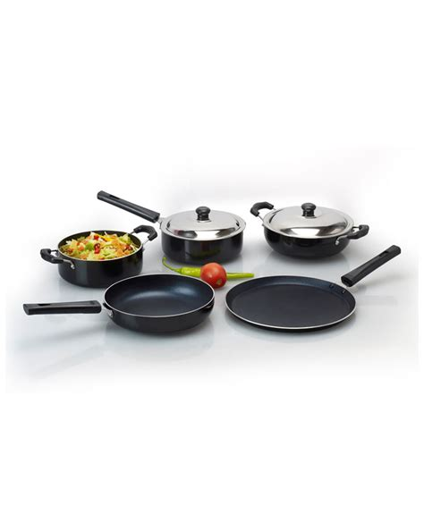 5 Pcs Non Stick Cookware Set anjali 5 pcs non stick cookware gift set