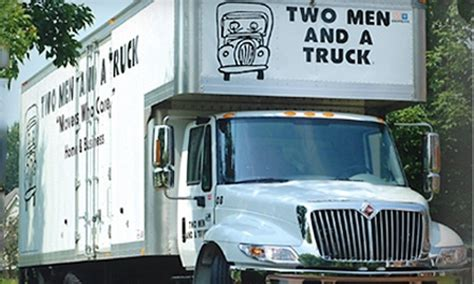 two and a truck hourly rate one hour of moving services 119 value two and a