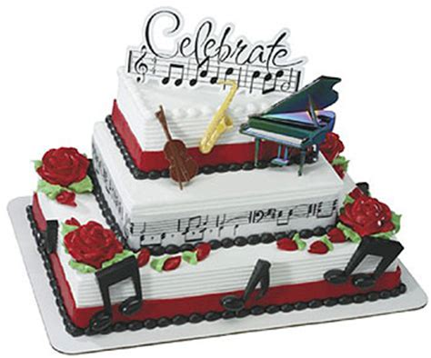 decorations musical cake 201208