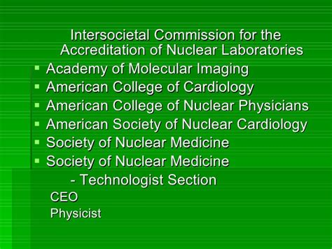 society of nuclear medicine technologist section achieving accreditation in echo nuclear and vascular