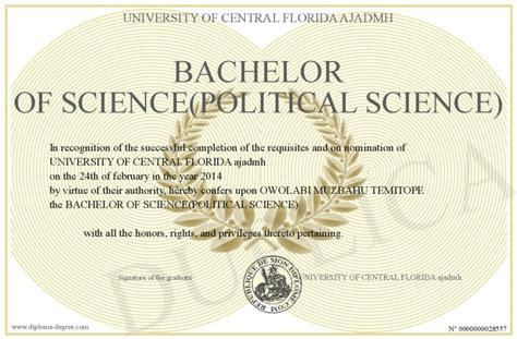 Political Science Bachelors Mba by Bachelor Of Science Political Science