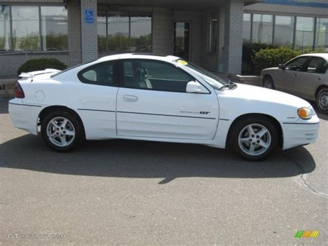 Pontiac Grand Am Gt 2002 by 2002 Arctic White Pontiac Grand Am Gt Coupe 29266435