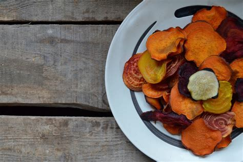 root vegetable chips baked root vegetable chips dinner with aura