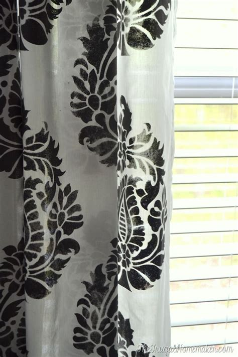 stencil curtains 412 best images about window treatment ideas on pinterest