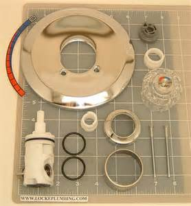 eljer shower faucet eljer scald guard tub and shower faucet trim kit with