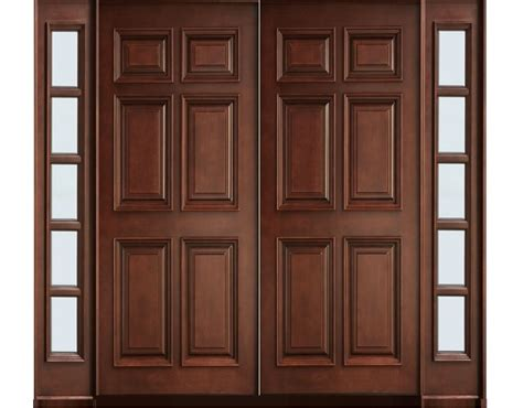 Wooden Main Door by Solid Wood Main Double Door Hpd413 Main Doors Al Habib