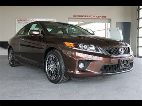 2014 honda accord ex l coupe review youtube