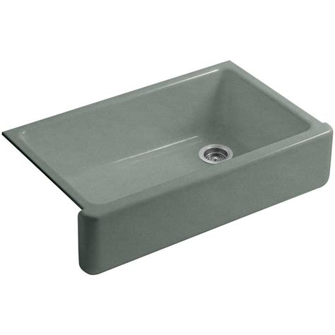 kohler cast iron apron front sink kohler whitehaven undermount farmhouse apron front cast