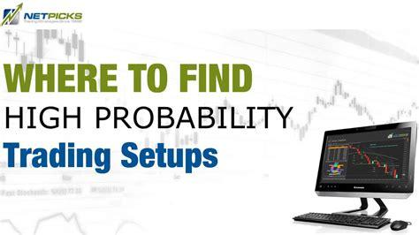 Ebook High Probability Trade Setups where to find high probability trading setups