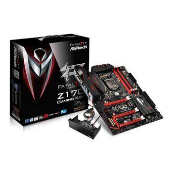Asrock Fatal1ty Z170 Gaming K6 Skylake 1151 Ddr4 asrock fatal1ty z170 gaming k6 skylake atx motherboard