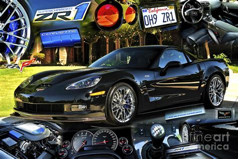 Wall Paper Murals For Sale oh9 zr 1 corvette collage charles abrams jpg 900 215 600