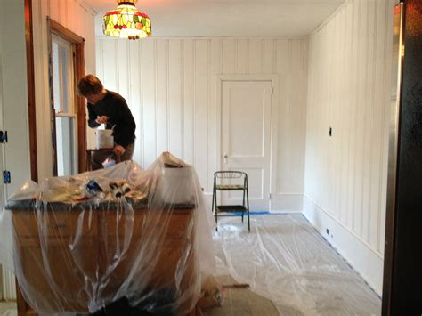 paint wood paneling white kitchen makeover part ii quailford