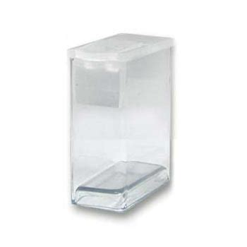 Dadu Dice Plastik 1 X 1 Mm plastic flip top clear storage 7 16 quot x1 quot x1 1 4 quot 32