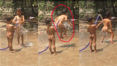 Khmer Take A Shower khmer traditional boy khmer take a shower