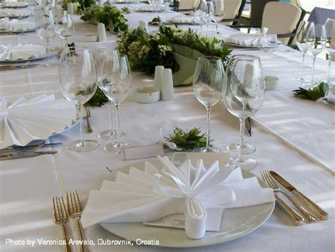 dinner decorations dubrovnik wedding dinner tables decorations