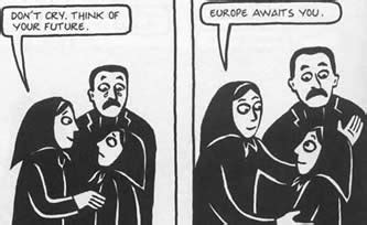 themes in the novel persepolis news office