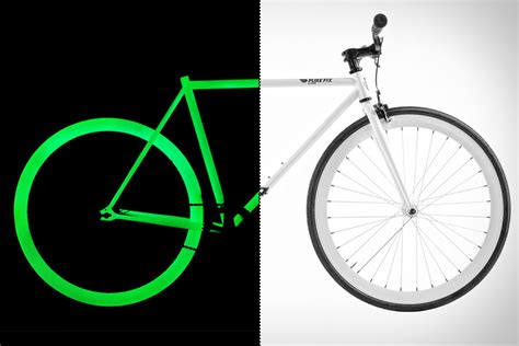 glow in the paint bicycle fix glow bikes uncrate