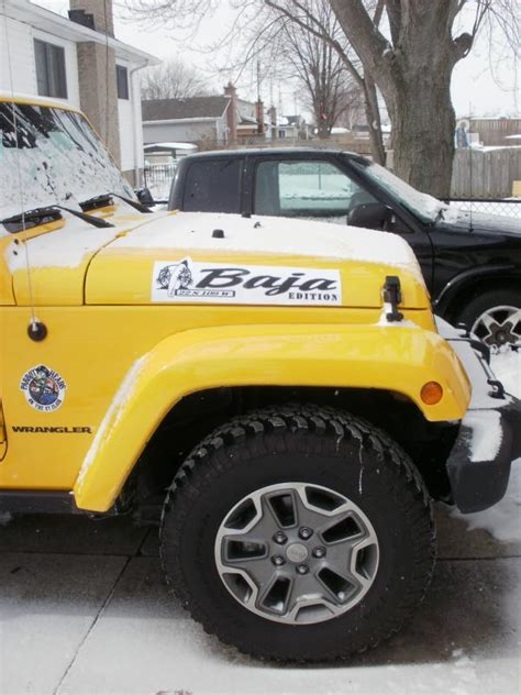jeep baja edition introducing the new yellow baja edition jeeps canada