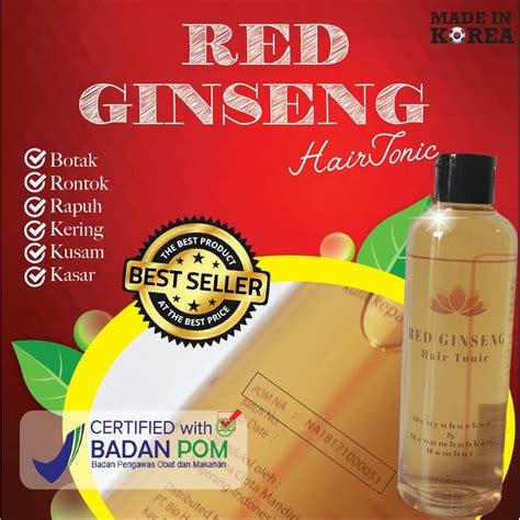 sho bio hair obat penumbuh rambut rontok botak cara bio herbal red ginseng hair tonic obat rambut rontok