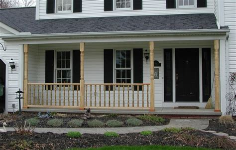 Wood Porch Railings And Posts