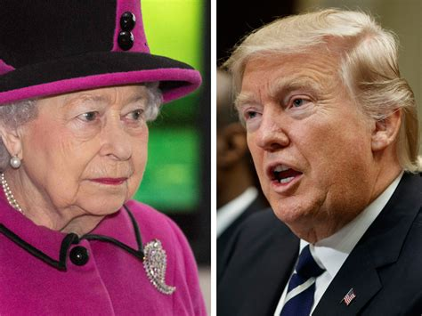 queen elizabeth donald trump will queen elizabeth host trump at buckingham palace the