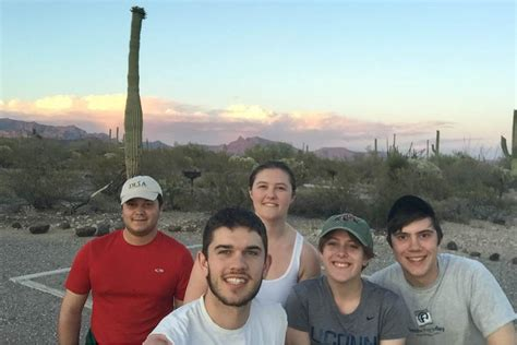 Uconn Mba International Trip by Searching For Creepy Crawlies In The Arizona Desert