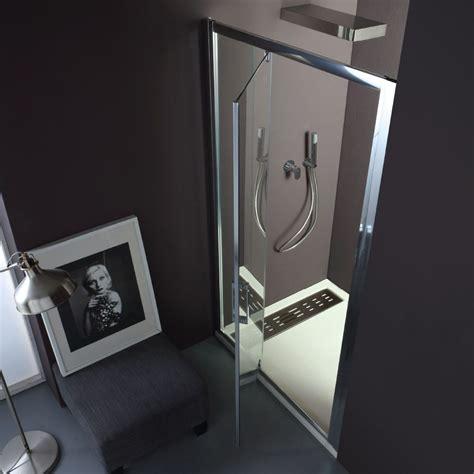 box doccia con porta battente free box doccia a nicchia con porta battente