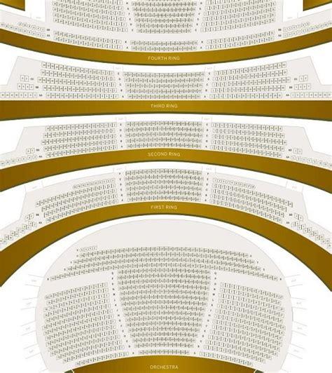 david h koch theater seating chart david h koch theater detailed seating chart tickpick
