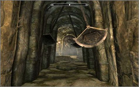 swinging axe pendulum skyrim axe trap prop reference pinterest skyrim