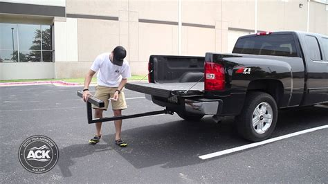 pickup truck bed extender how to install the darby extend a truck bed extender youtube