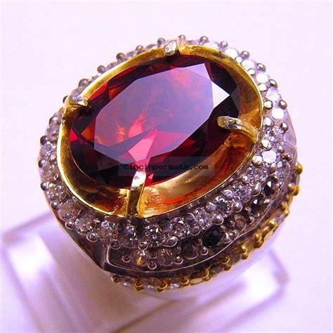 Cincin Garnet cincin batu garnet cincinpermata jual batu permata