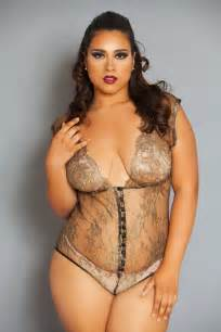 Sponsored plus size fashion trend the a bodysuit by intimates