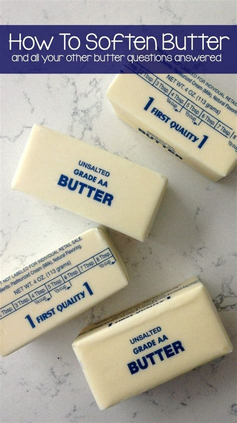 how to soften butter how to measure flour for crust