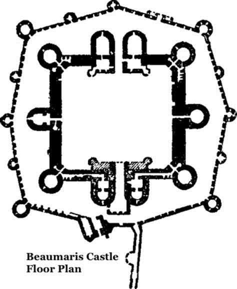beaumaris castle floor plan beaumaris castle photos history and facts upon this