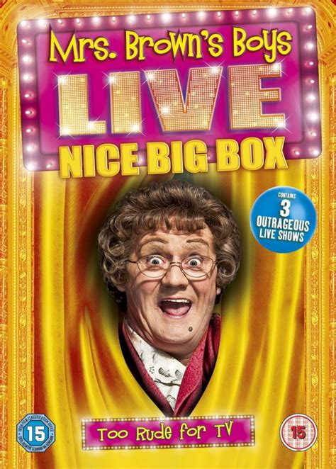 Browns Live In Sues For Half Of His Estate by Mrs Browns Boys Live Tour Boxset Dvd Zavvi