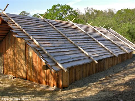 Plank House by The Columbia River Cathlapotle Plankhouse Ridgefield