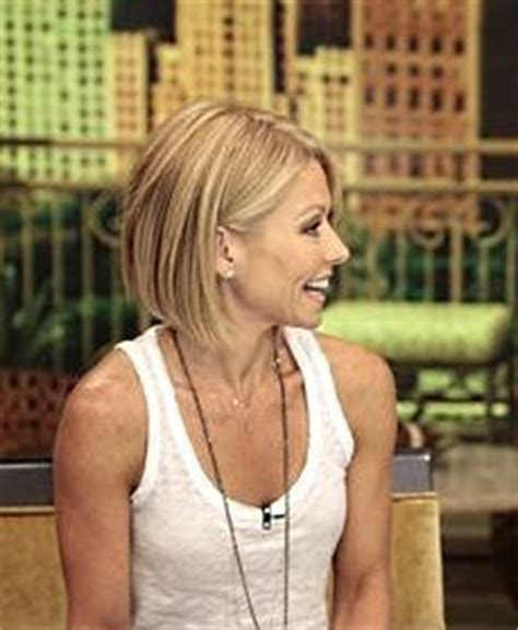 kelly ripa bob wave hair pinterest kelly ripa bobs 1000 images about hair on pinterest side bangs kelly
