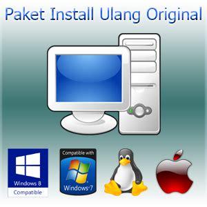 Paket Murah Nevalium Original Size M 1 jual sistem operasi paket install ulang murah terjangkau