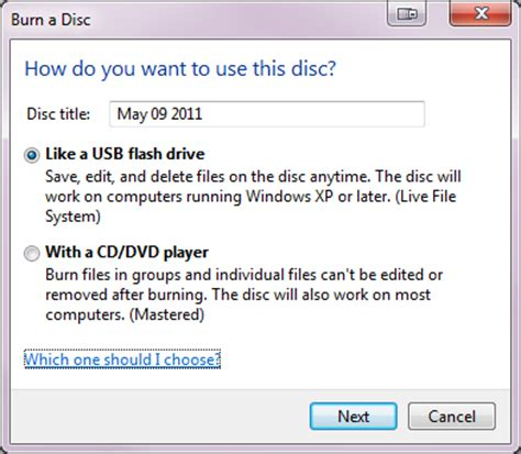 Format Live File System | augment your data storage options with windows 7 live file