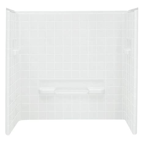 bathtub wall set sterling all pro 30 in x 60 in x 60 in 3 piece direct