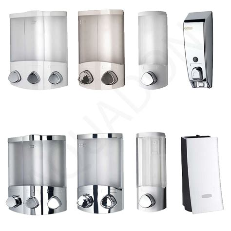 bathroom soap dispensers wall mounted soap dispensers chrome white bathroom cloakroom shower