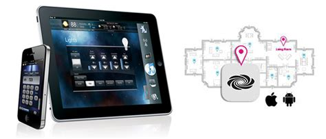 crestron proximity beacon home automation technology
