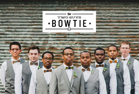 wooden bow ties from two guys bow tie green wedding
