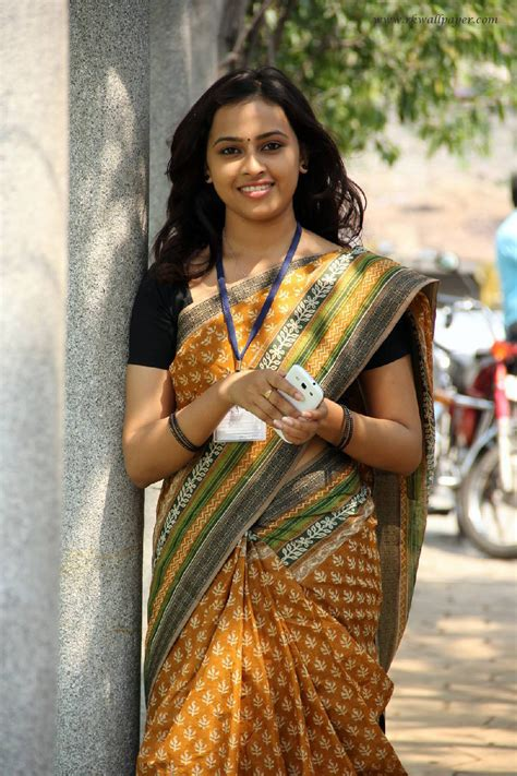 photos of heroine in saree heroine sri divya beautiful saree images hd girls wallpapers